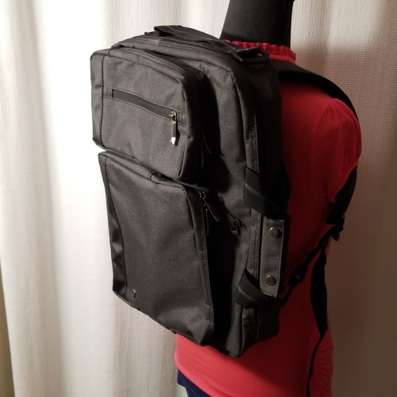 Solo Bags Nwot Hybrid Computer Briefcase Backpack Poshmark